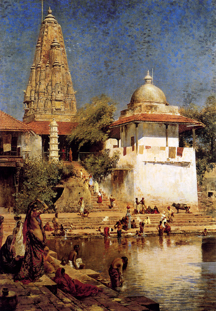 The Temple And Tank Of Walkeshwar At Bombay