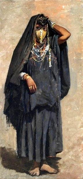 Veiled Girl Of India