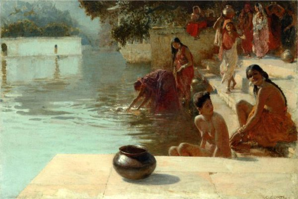 Women's Bathing Place, Oodeypore, India