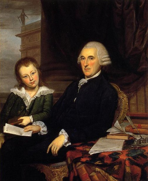 Governor Thomas McKean And His Son, Thomas jr.