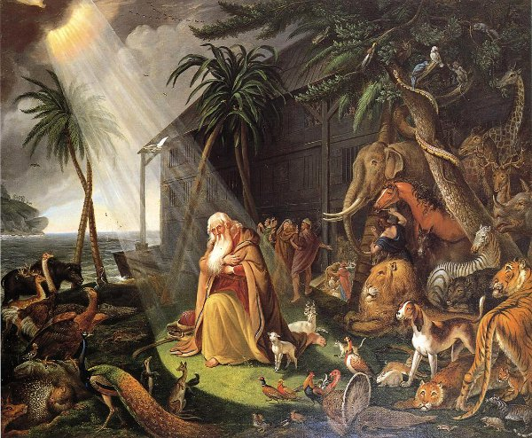 Noah And His Ark (after Charles Catton)