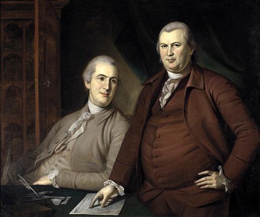 Robert Morris And Gouverneur Morris