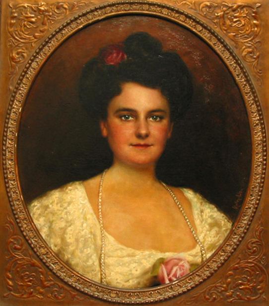 Saidee Williams Overton (Sarah Gladys Cheeney Williams), Mrs. Jesse Overton