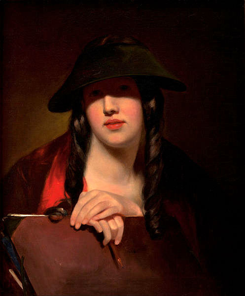 The Student (Rosalie Kemble Sully, The Artist's Daughter)